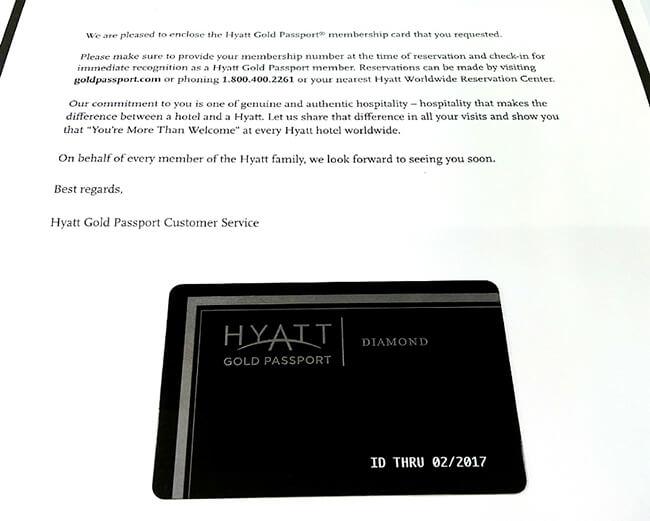 하얏트 다이아몬드 카드