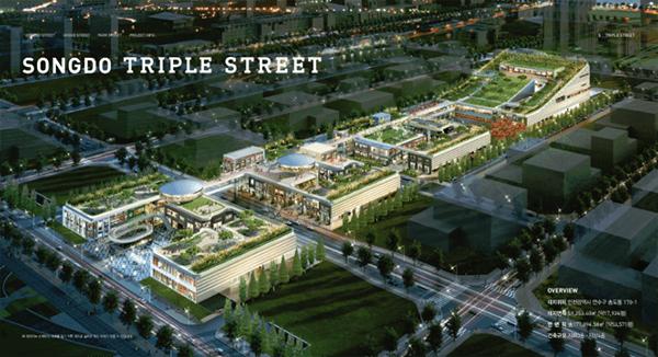 Triple streets
