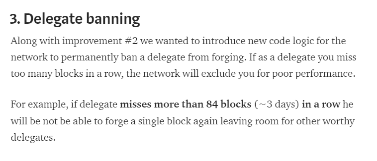 Delegate banning